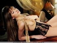 Sensual Teen Sexy Corset and Mesh - pics 15