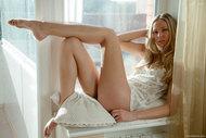 Blonde Beauty in the Window - pics 02