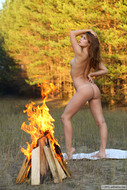 Sexy Lubricious Angel Campfire - pics 05