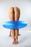 Yummy Slick Pussy in Blue Ring - pics 09