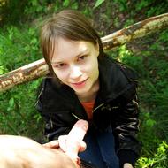Horny Beata B Forest Fucking - pics 02