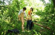 Horny Beata B Forest Fucking - pics 07