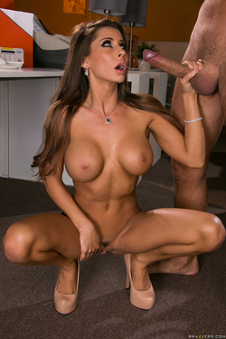 Busty Madison Ivy Riding a Fat Cock - pics 17
