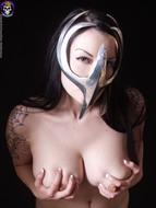Gothic Babe Big Beautiful Tits - pics 10