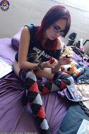 Scarlet Starr Busty Nerd Vixen - pics 00