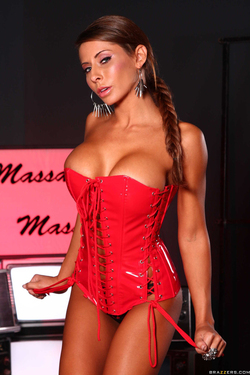 Busty Madison Ivy Naughty Nuru - pics 01