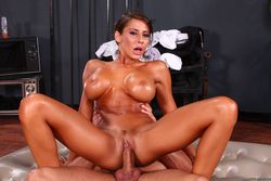 Busty Madison Ivy Naughty Nuru - pics 17