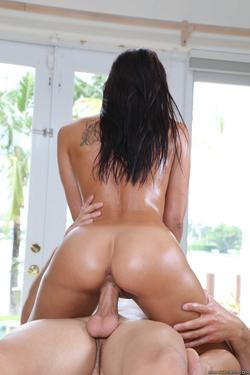 Rachel Starr Oiled Hardcore Fuck - pics 16
