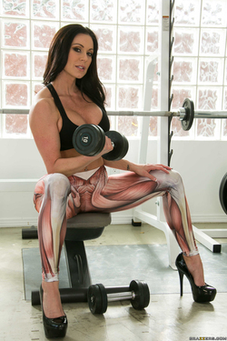 Kendra Lust Going Deep at the Gym - pics 14