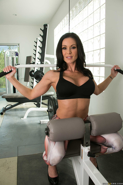 Kendra Lust Going Deep at the Gym - pics 15