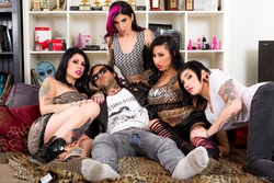 Joanna Angel, Lily Lane, Nikki Hearts - pics 00
