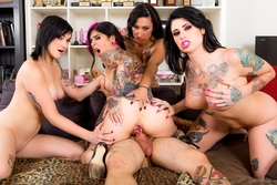 Joanna Angel, Lily Lane, Nikki Hearts - pics 12