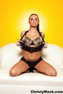 Busty Christy Mack Spiked Bra - pics 04