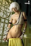 Cosplay Girl Lana Oiled Body Pics - pics 11