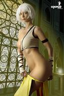 Cosplay Girl Lana Oiled Body Pics - pics 13