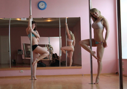 Sexy Amateur Babes Pole Dancing - pics 00