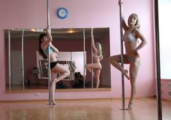 Sexy Amateur Babes Pole Dancing - pics 01
