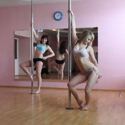Sexy Amateur Babes Pole Dancing - pics 03