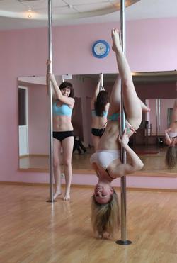 Sexy Amateur Babes Pole Dancing - pics 14