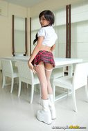 Thai Schoolgirl Cool High Heels - pics 01