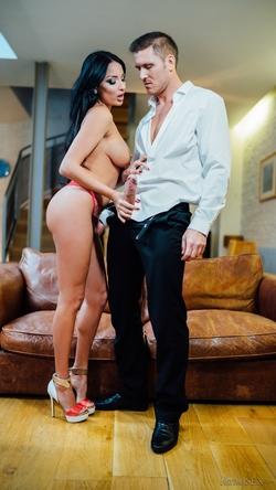Busty Anissa Kate Riding a Big Dick - pics 02