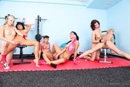 Six Horny Lesbians Hard Porn - pics 07