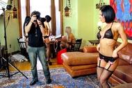 hot pornstars behind the scenes - pics 02