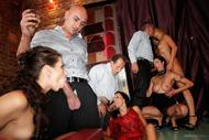 Striptease Turns Into Wild Orgy - pics 06