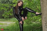 Liona Tammy Tight Black Catsuit - pics 07