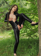 Liona Tammy Tight Black Catsuit - pics 08