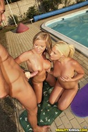 5 Bikini Babes Group Sex - pics 11