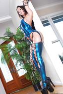 Rachel Starr in Shiny Lingerie - pics 05
