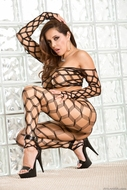 Francesca Le Sexy Fishnet Body - pics 03