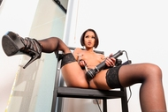 Sexy Skin Diamond Black rubber - pics 07
