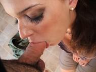 Sexy Amateur Girl POV Blowjob - pics 14