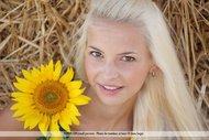 Platinum Blonde Pussy Sunflower - pics 00