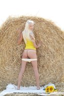 Platinum Blonde Pussy Sunflower - pics 02
