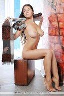 Sexy Big Boobed Sofi Spreading - pics 05