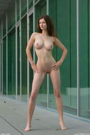 Tall Busty Model Susann Strips - pics 10