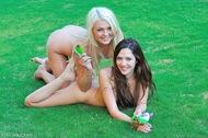 Natural Lesbian Babes Have Fun - pics 13