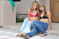 Sexy Jeans Babes Rilee and Sara - pics 00