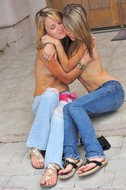 Sexy Jeans Babes Rilee and Sara - pics 05
