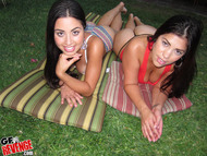Damn Hot Latinas by the Pool - pics 03