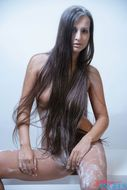 Long Haired Babe Perfect Naked - pics 02