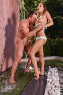 Pornstar Satin Bloom Outdoors - pics 05