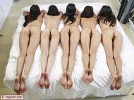 Five Beautiful Brunette Lesbians - pics 02