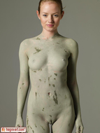 Sensual Teen Mia Sexy Muddy Body - pics 01