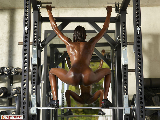 Hot Ebony Valerie Vicious Power - picture 13