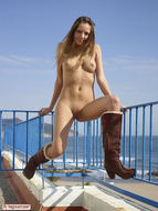 Sweet Teenager on the Balcony - pics 08