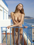 Sweet Teenager on the Balcony - pics 14